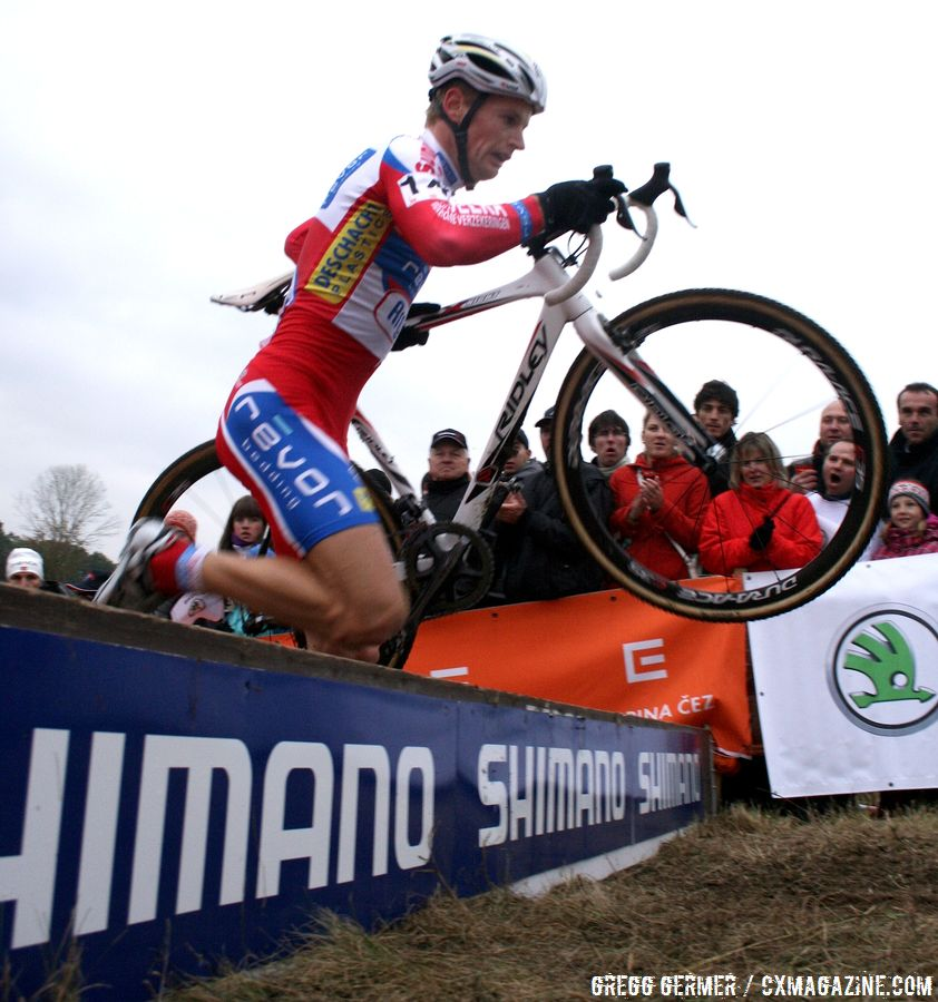 Pauwels on his way to the win © Gregg Germer