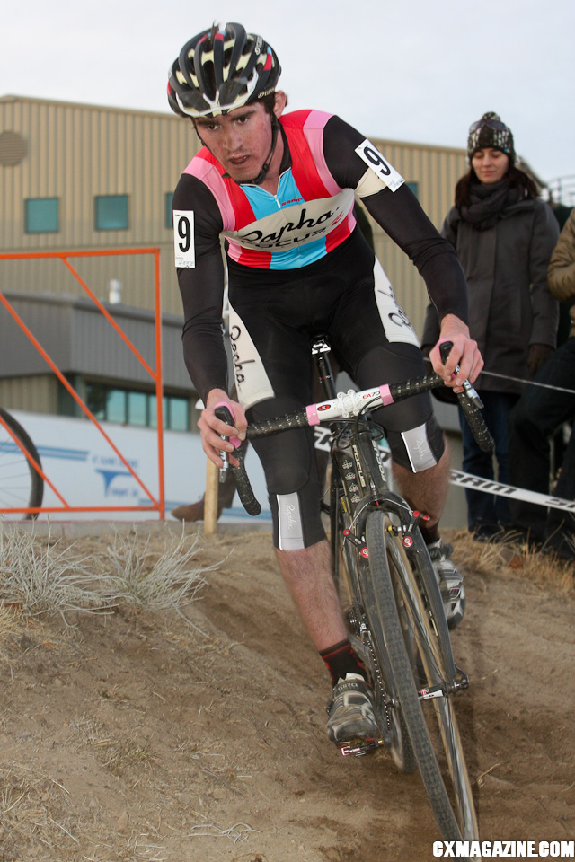 Zach acDonald won the U23 race and took over the series lead. ©Pat Malach