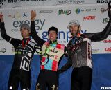 Sunday's podium: Driscoll, Powers and Kabuch. ©Pat Malach