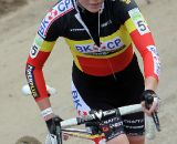 Belgian champion Sanne Cant finished just outside the podium in 4th position.