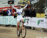 Marianne Vos takes the win in the first Cauberg cyclo-cross.