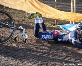 Clement Venturini crashed halfway through the race but it didn't stopped him ©Bart Hazen