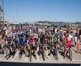 The start of the Masters 35+ A. BASP #1, Candlestick Park, 2012. ©Cyclocross Magazine