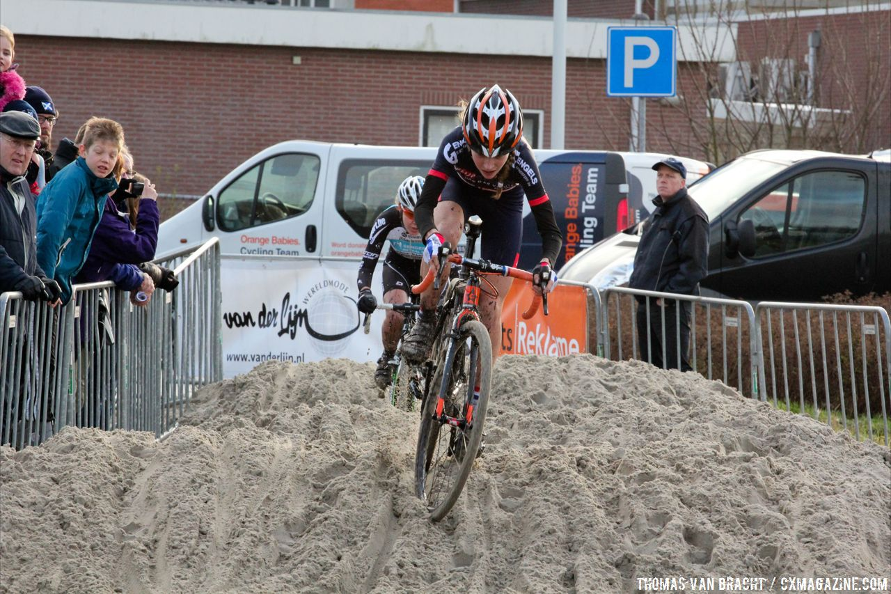 Very young (15yo) Dutch Rider Yara Kastelijn did really well and finished 4th © Thomas van Bracht