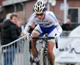 Marianne Vos on the Sand © Thomas van Bracht
