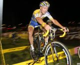 Arnoud Jouffroy cleared the barriers each lap. CrossVegas 2012. ©Cyclocross Magazine