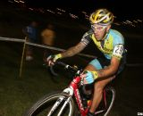 Adam Myerson chasing at CrossVegas 2012. ©Cyclocross Magazine