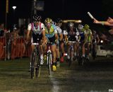 Jones leads the chase at CrossVegas 2012. ©Thomas van Bracht / Cyclocross Magazine