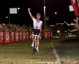 Jeremy Powers Wins CrossVegas 2012. ©Thomas van Bracht / Cyclocross Magazine