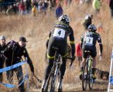 Johnon and Trebon give chase of Page and Powers. ©Cyclocross Magazine