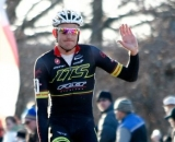 Ryan Trebon (LTS/Felt) settles for silver after earning the same in last season's National Cyclocross Championship ©Tim Westmore