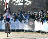 Jeremy Powers (Team Rapha-Focus) showing relief and disbelief as he finally wins the Elite Men's National Cyclocross Championship ©Tim Westmore