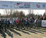 The final seconds before the start. 2012 Cyclocross National Championships, Elite Women. © Cyclocross Magazine
