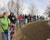 Warm temperatures led to the largest crowd of the week. © Cyclocross Magazine