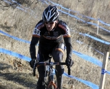 Webber chasing Dwight. 2012 Cyclocross National Championships, Masters Men 40-44. ©Amy Dykema