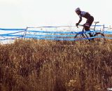 Greg Furguon crests the final climb. Masters Men 45-49, 2012 Nationals. © Cyclocross Magazine