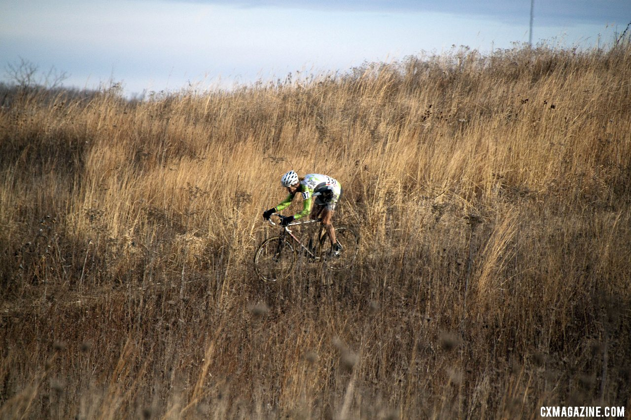 Tilford Was Tearing Down Hills, Through Corners, and Everywhere He Could Make Up Time On The Course  © Cyclocross Magazine