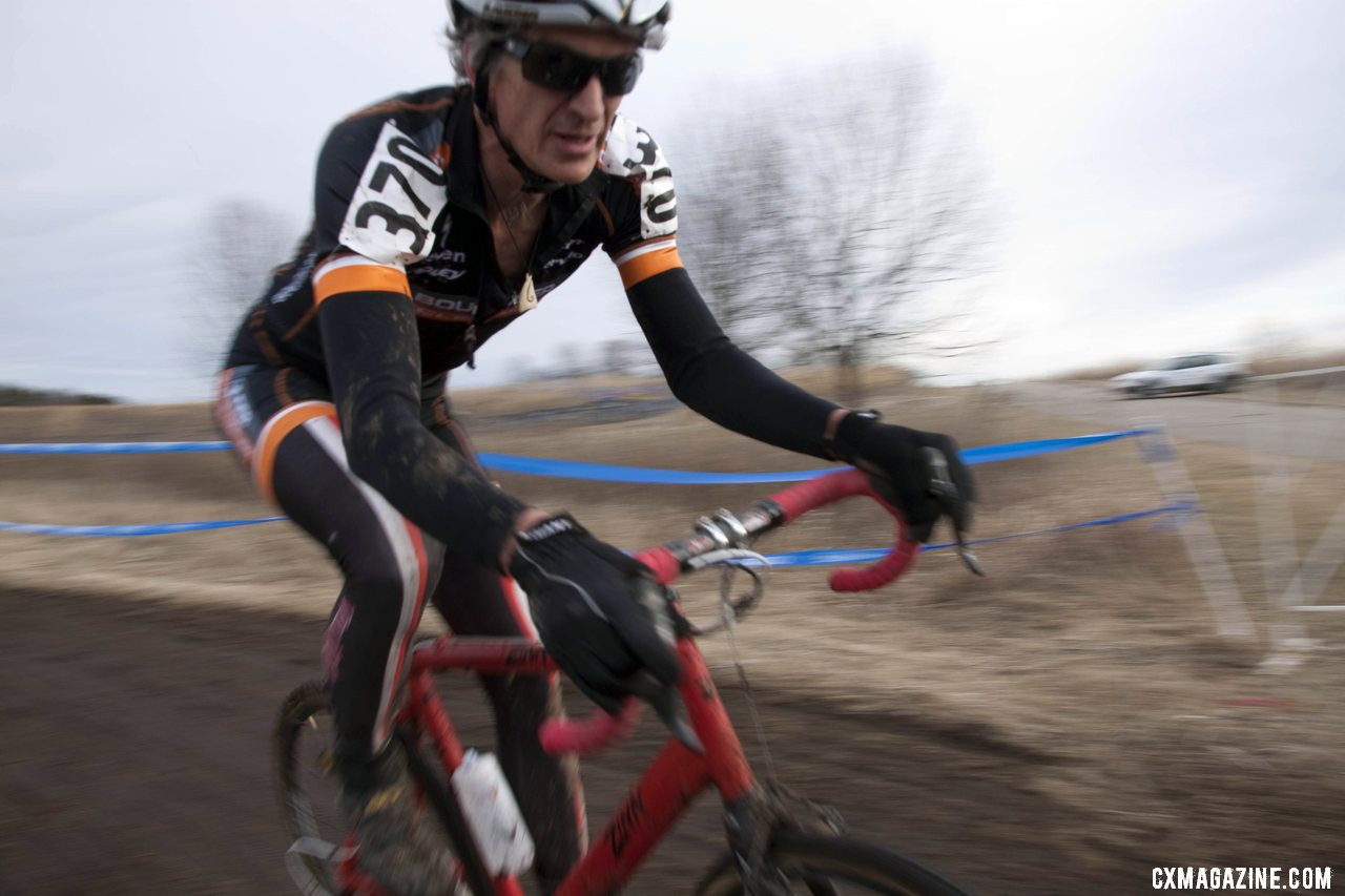 Lennard Zinn Looks Shorter In Person © Cyclocross Magazine