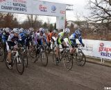 Tilford Gets the Jump on Hines Off the Line© Cyclocross Magazine