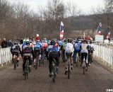 The Men's 50-54 Fastest Start Left Some in the Dust © Cyclocross Magazine
