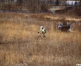 Hines Kept Tilford Close Early in the Race, But Fell About 20-Seconds Behind By The Last Lap © Cyclocross Magazine