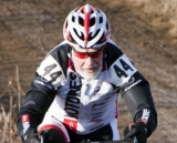Walt Axthelm rode strongly and uncontested for the 80+ title. © Cyclocross Magazine