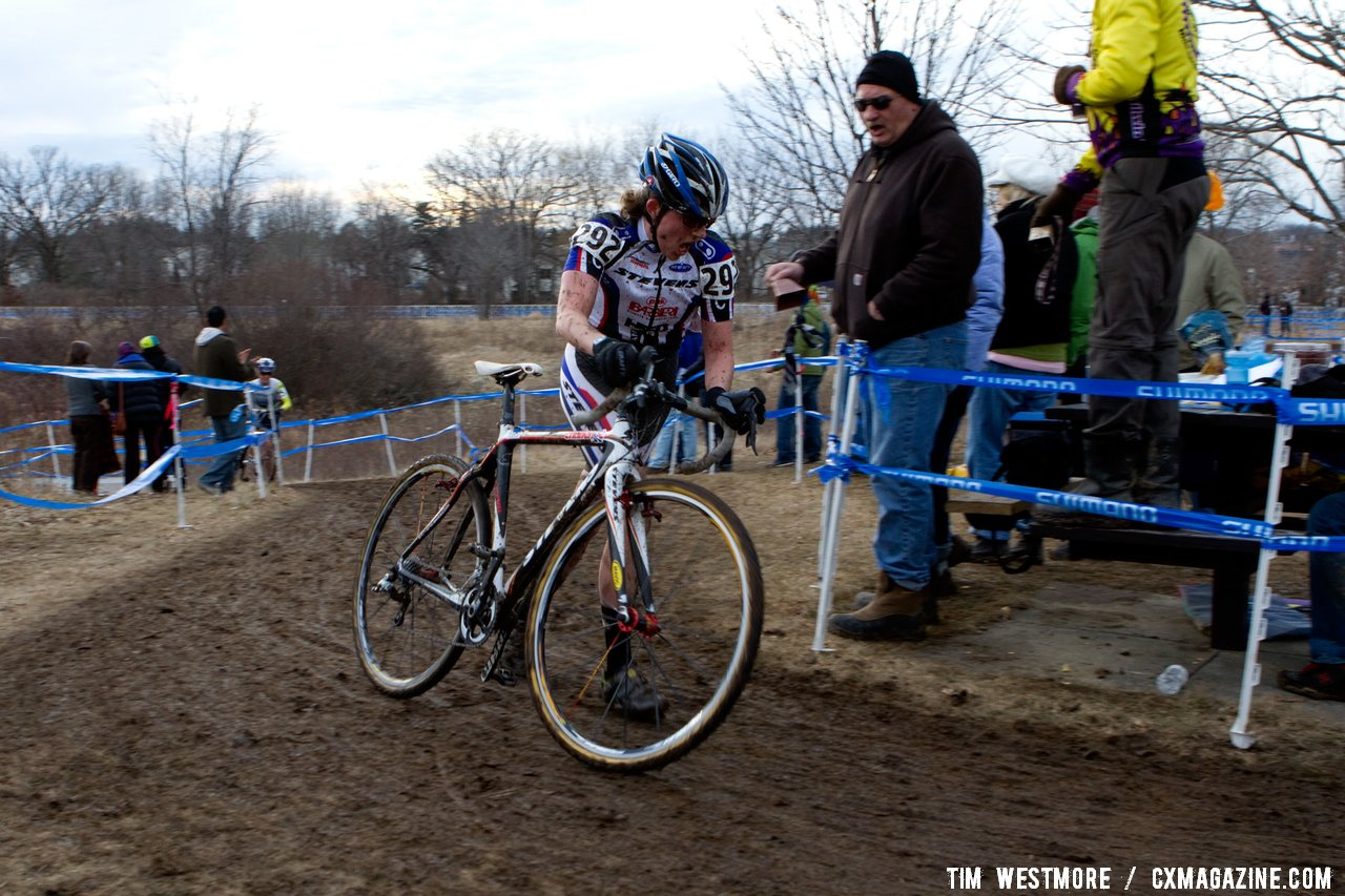 Corey Coogan just missed the podium, racing to 4th place.  © Cyclocross Magazine