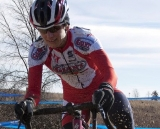 Gina Hall used her Norcal sand skills to win another title. 2012 Cyclocross National Championships, Masters Women Over 45. © Cyclocross Magazine