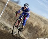 Katrina Baumsteiger from Norcal finished fifth in the Masters Women's 45-49 race. 2012 Cyclocross National Championships, Masters Women 60 and over. © Tim Westmore