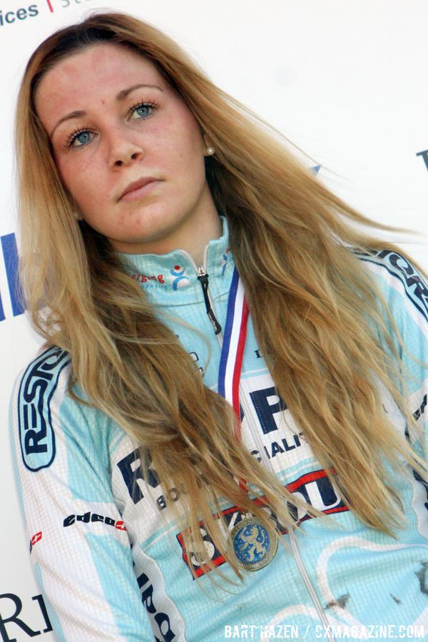 Mascha Mulder third in the junior women\'s race