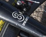 Tom Stevens crafts each Spin Arts frame by hand © Cyclocross Magazine