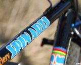 Stevens works with steel and traditional lugs © Cyclocross Magazine