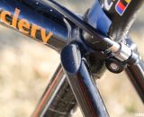 The seatstays are independently welded to the lug © Cyclocross Magazine