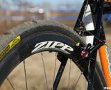 Carbon Zipps help keep the Spin Arts light © Cyclocross Magazine
