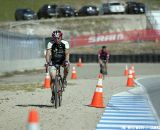 A Norcal Rock Lobster racer navigates the loose gravel off the raceway. ©Tim Westmore