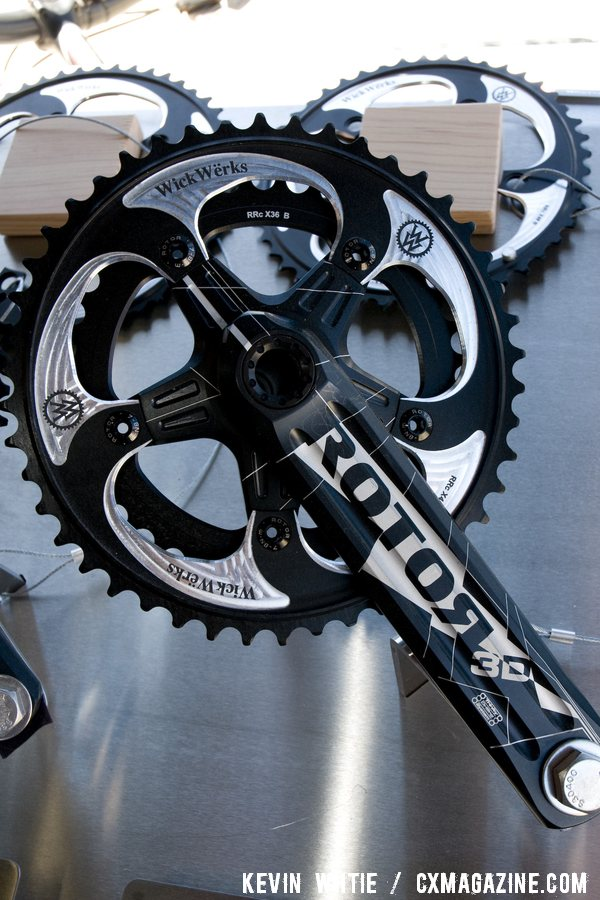 WickWerks chainrings that utilize