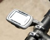 Northern California based Bar Fly introduced a new molded Garmin Edge computer mount that can be placed in front or to the rear of the handlebars. © Kevin White