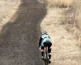 The long ascent was even tougher on a single speed.© Cyclocross Magazine