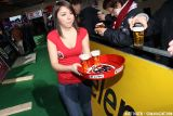 Jupiler Beer is a very popular beer in Belgium and sponsor of the event © Bart Hazen