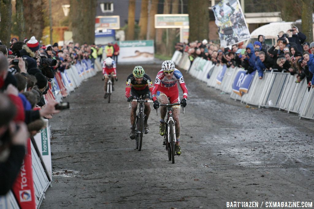 Pauwels wasn\'t quite able to hang with the leaders © Bart Hazen