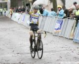 Wout van Aert with the win © Bart Hazen