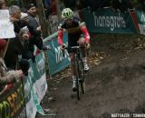 Sven Nys rode solo for six laps © Bart Hazen