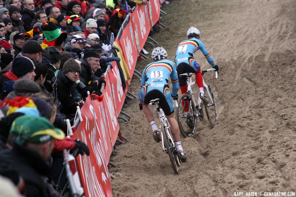 Pauwels and Albert in the chase behind Albert © Bart Hazen