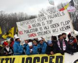 The fans of Kevin Pauwels © Bart Hazen