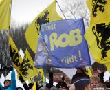 Fans of the surprising Rob Peeters © Bart Hazen