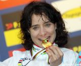 Marianne Vos with the gold. © Bart Hazen