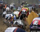Sven Nys started well behind © Bart Hazen