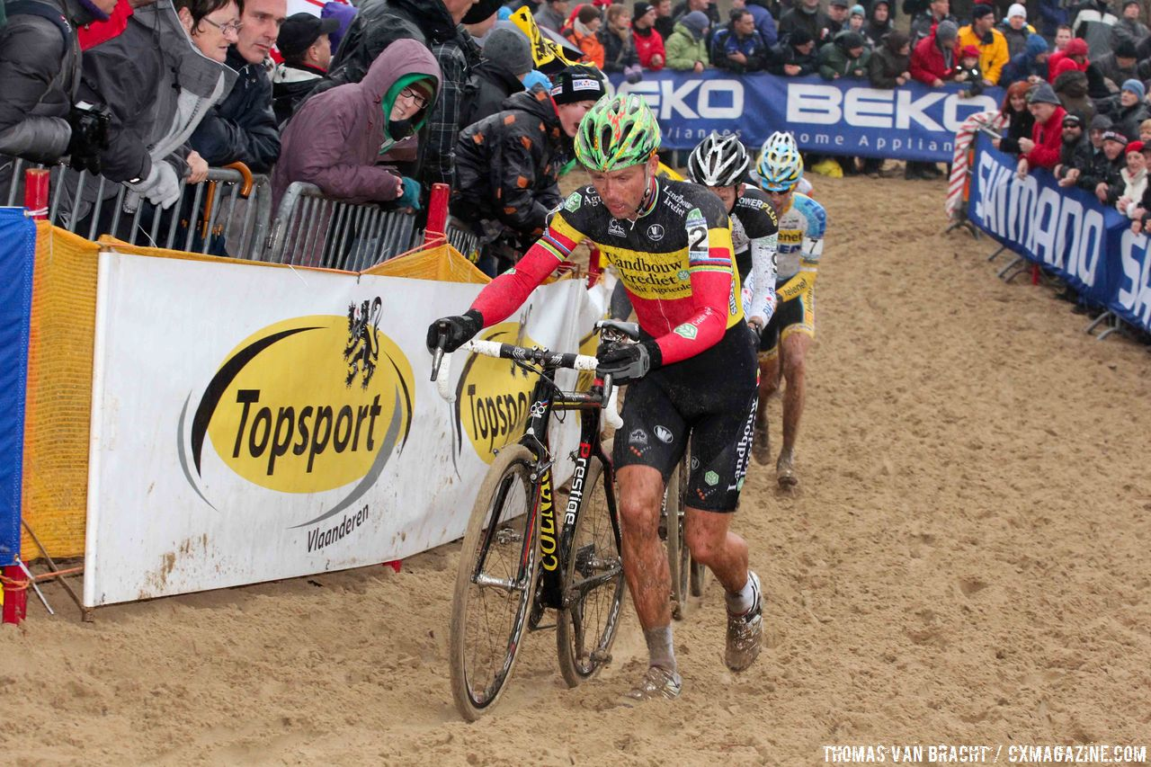 Sven Nys had a rough start © Thomas van Bracht