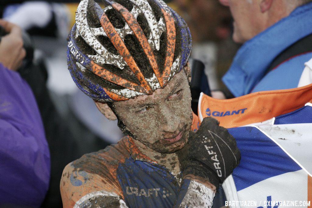 Lars van der Haar after the race © Bart Hazen