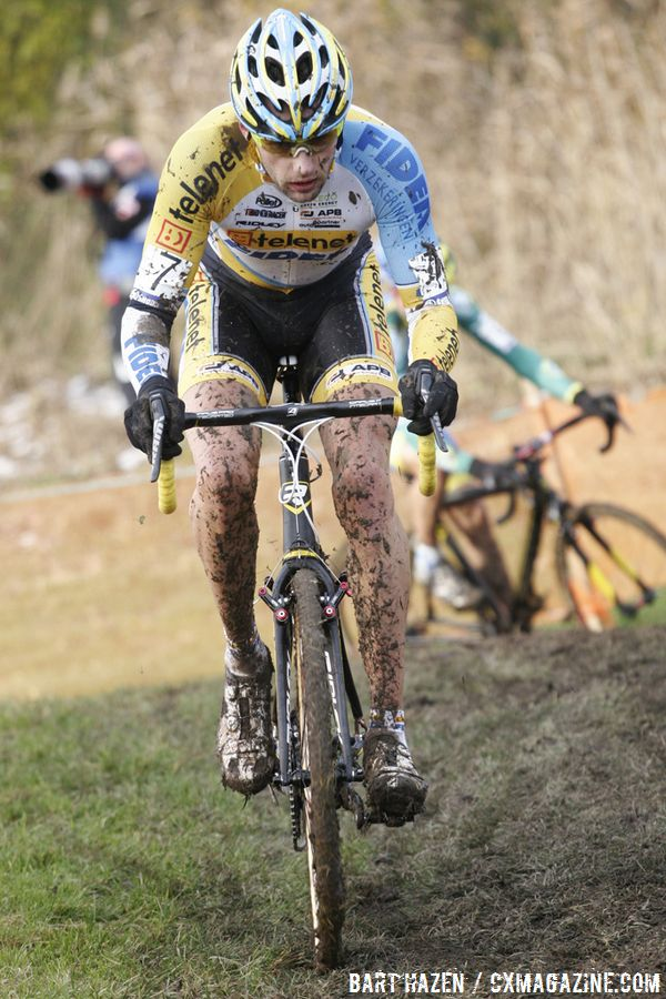 Rob Peeters looked strong, but was disqualified for riding the pit  © Bart Hazen